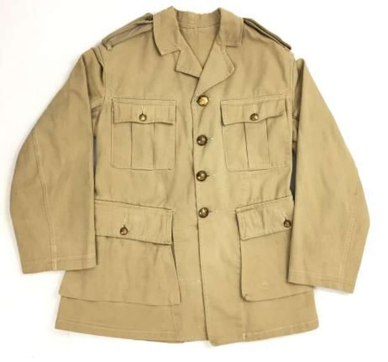 Original 1943 Dated Warrant Officers Khaki Drill Tunic