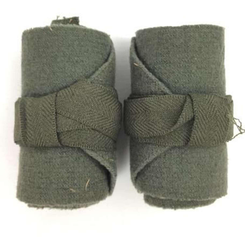 Original WW2 British Army Short Puttees