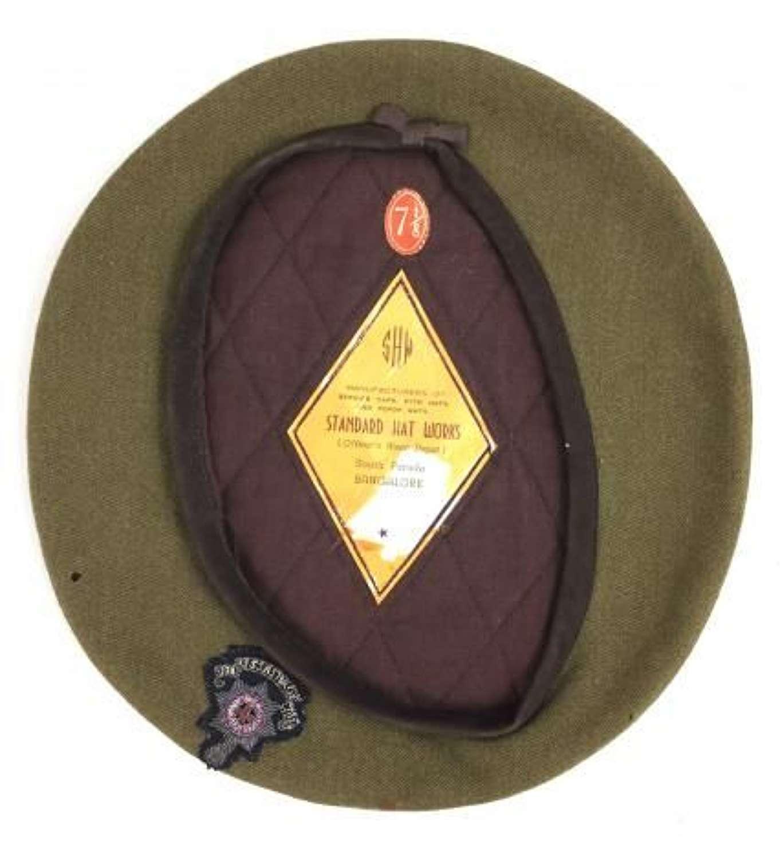 Original Royal Sussex Regiment Officers Beret - Size 7 1/8