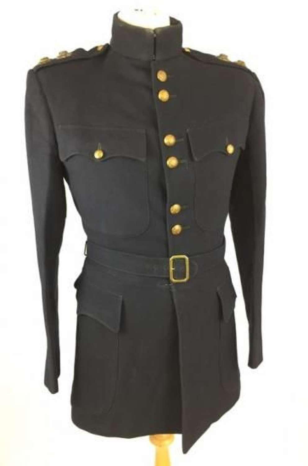 Pre Second World War Coldstream Guards Officers Tunic and Trousers with BEF History