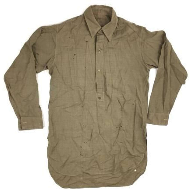 Original WW2 Officers Collared Shirt