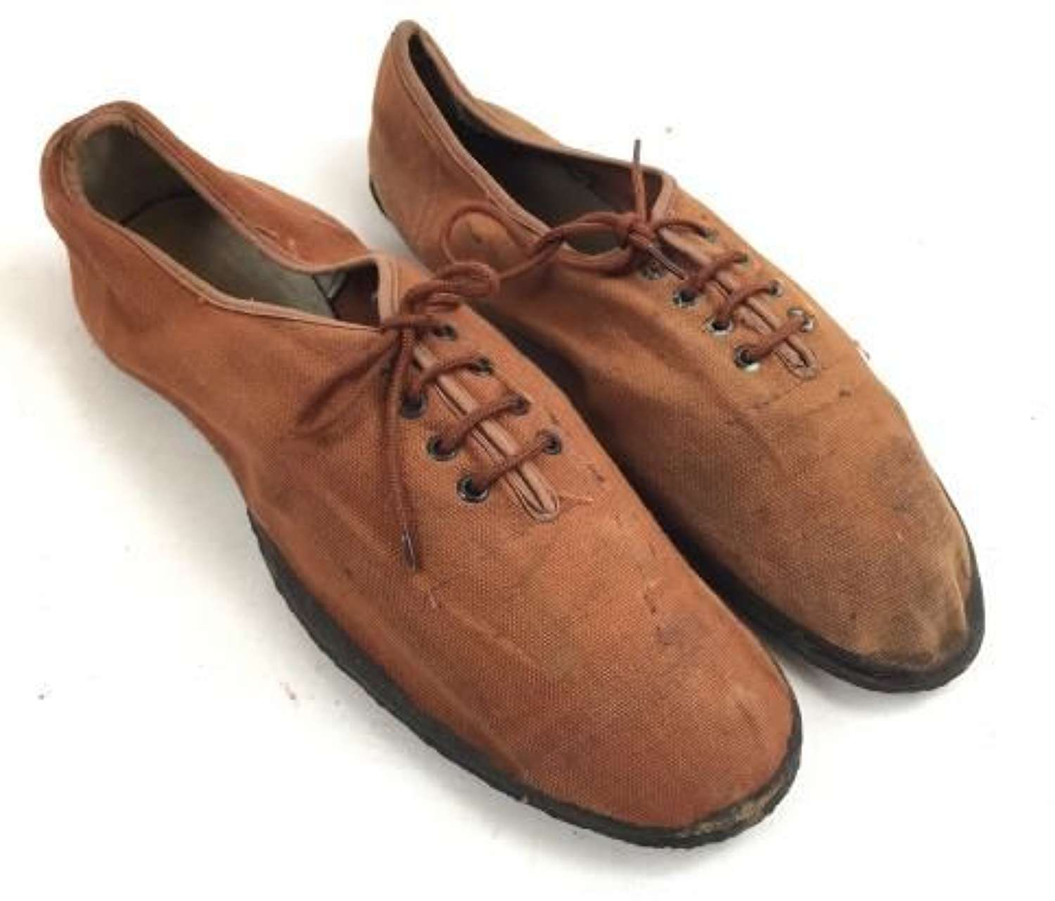 Scarce Early British PT Shoes