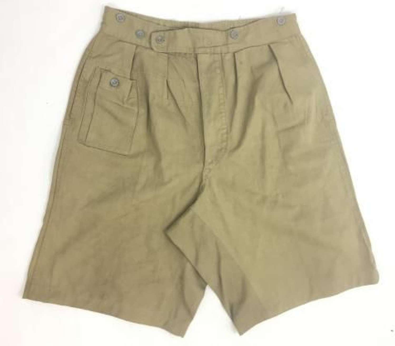 1944 Dated British Army Khaki Drill Shorts