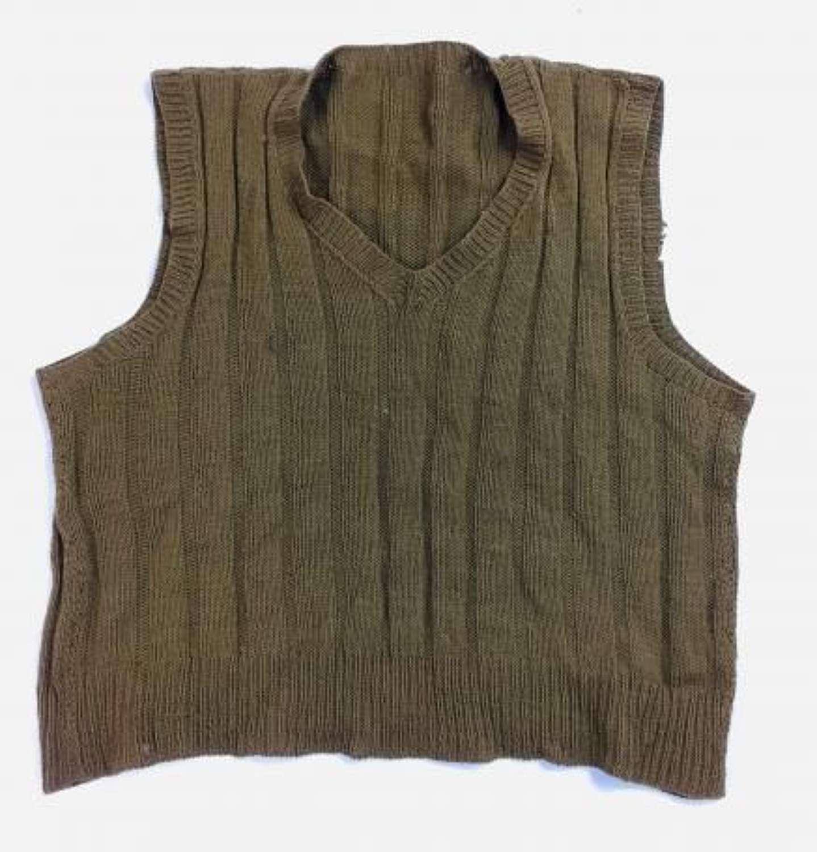 Original WW2 British Army Sleeveless Pullover