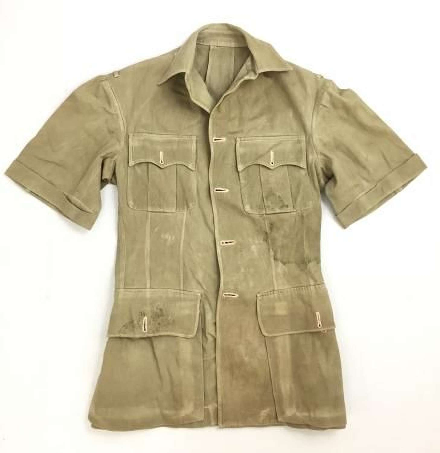 Original British Officers Khaki Drill Tunic