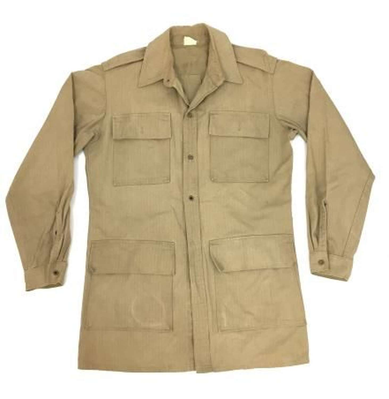 Scarce American War Aid Khaki Drill Bush Jacket - Large size