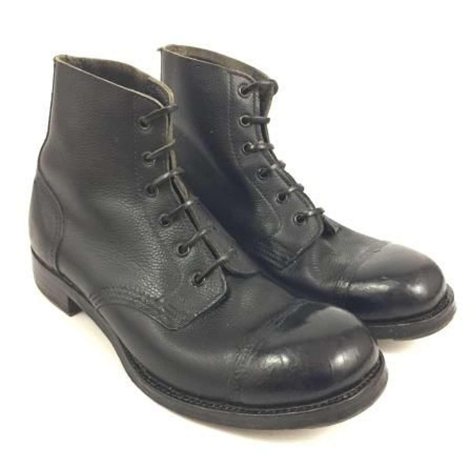 1955 Dated British Army Ammunition Boots - Size 10S
