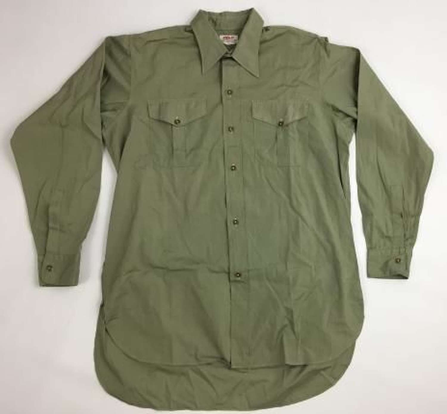 Original WW2 Era British Army Officers Shirt by 'Alkit'
