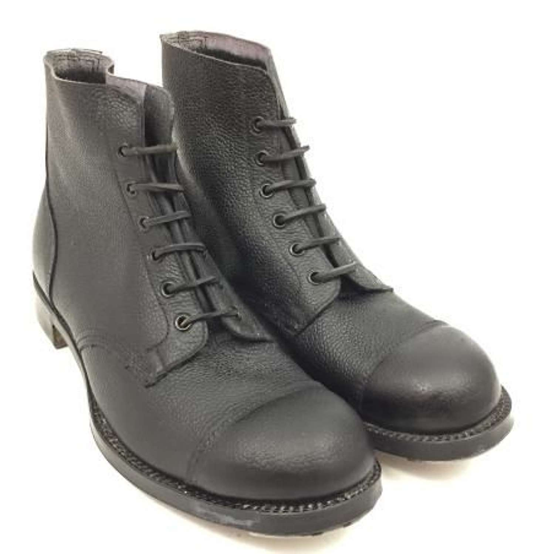 Original British Army Ammunition Boots - Size 9s