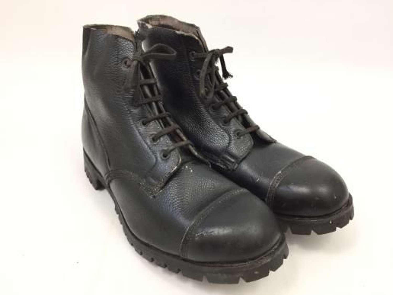 Original British Army Ammunition Boots With SV Commando Sole - Size 13