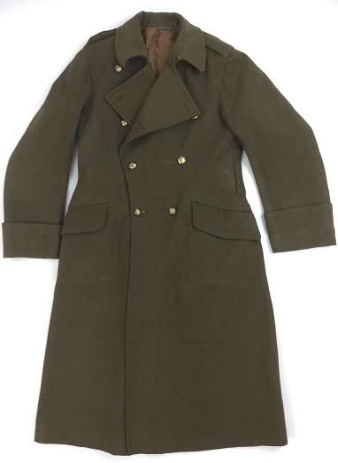 Original 1941 Dated British Army Officers Greatcoat - Royal Artillery