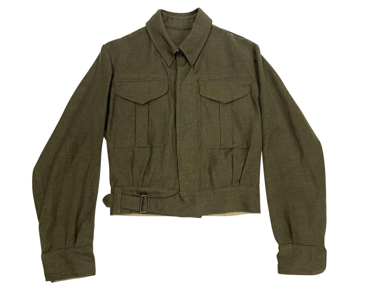 Original Early WW2 Indian Made Battledress Blouse