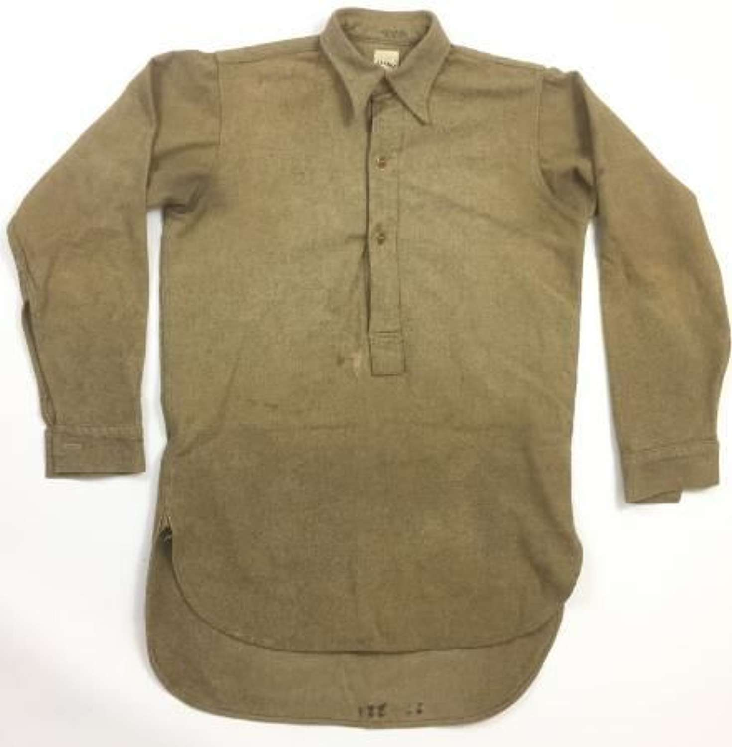 1947 Dated British Army Collared Shirt by 'Kenunex'