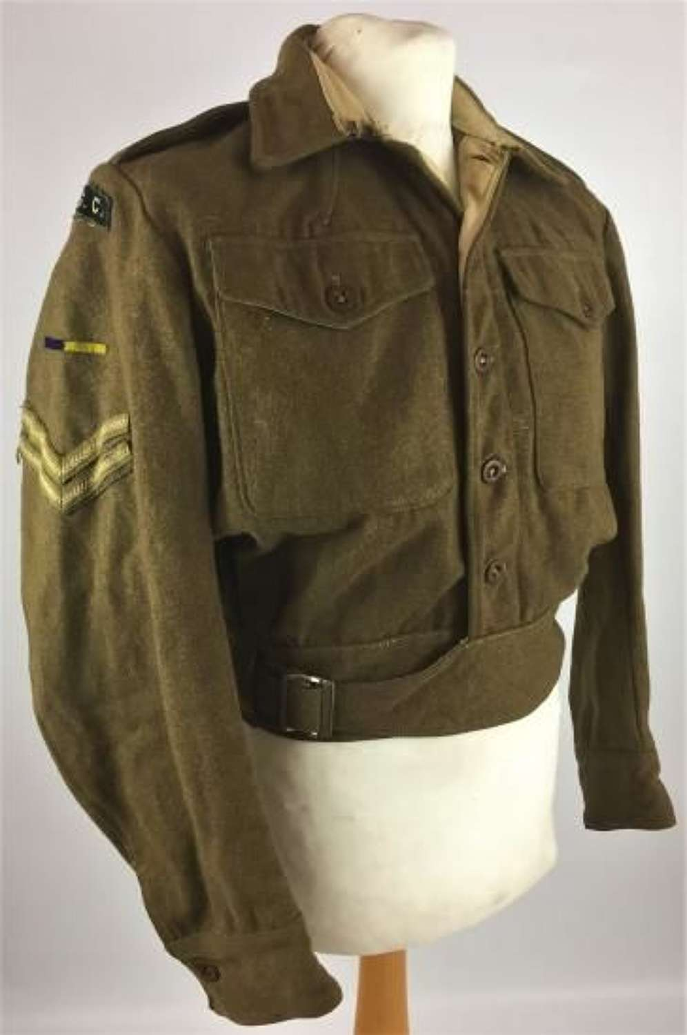 1944 Dated Royal Army Service Corps 1940 Pattern Battledress Blosue