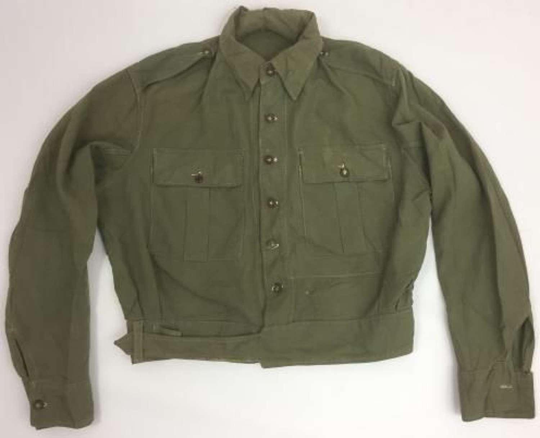 Original WW2 British Army Jungle Green Battledress