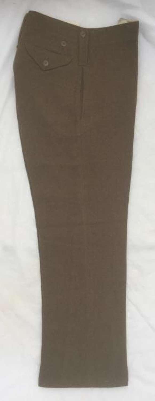 Original 1943 Dated War Aid Battledress Trousers