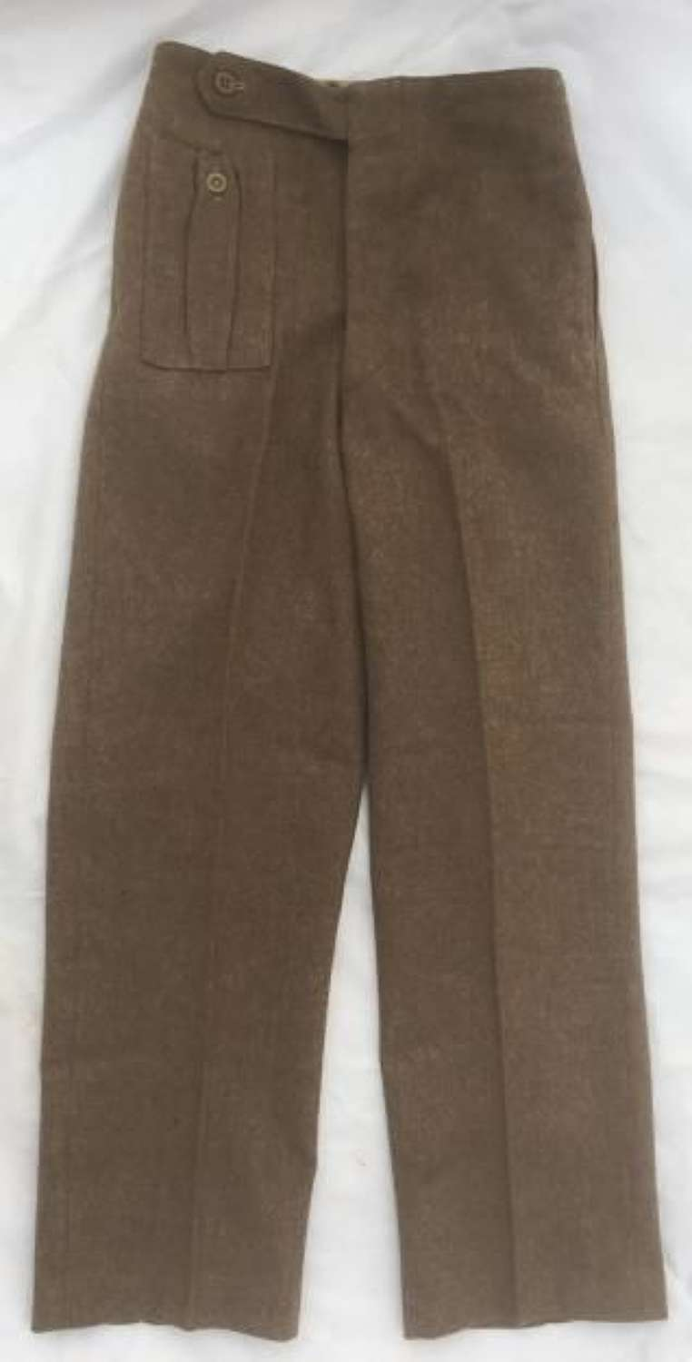 1940 Pattern Battledress Trousers ATS Converted