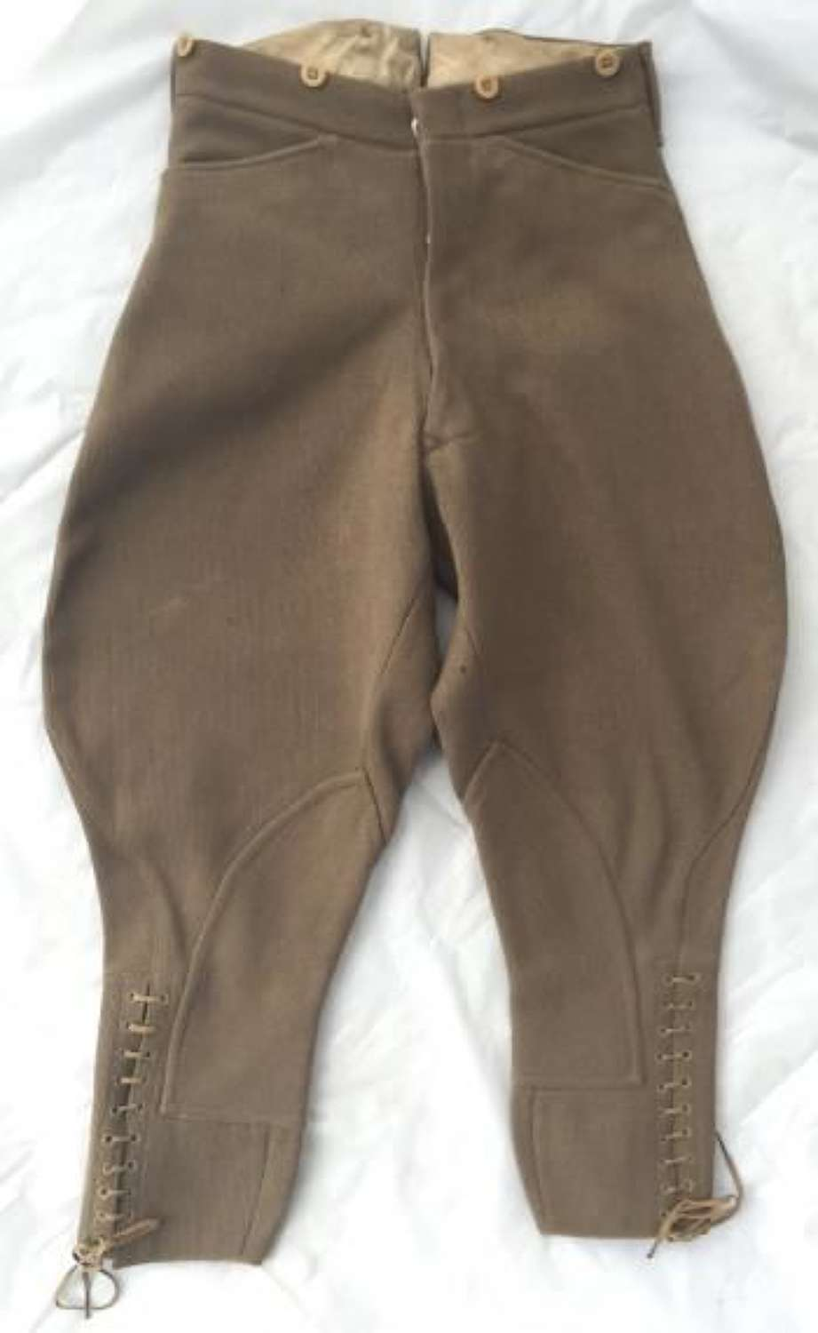 C.1930s British Army Officers Breeches by 'Pytchley'