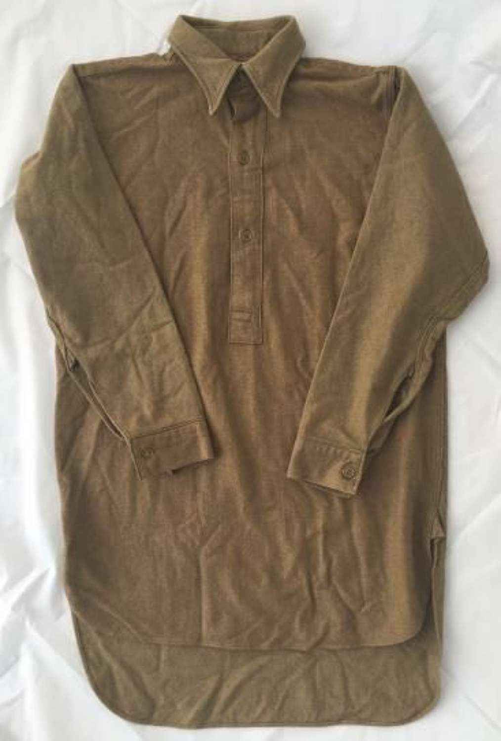 1945 Dated British Army OR collared shirt - Size 4