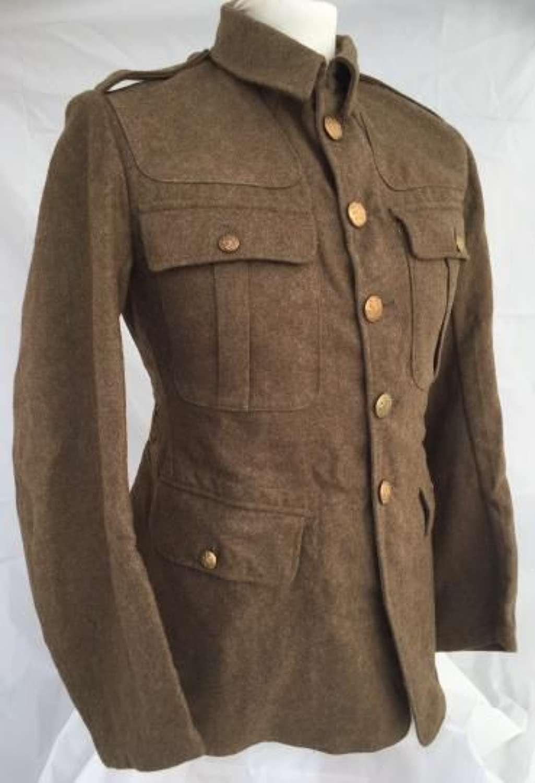 Original 1922 Pattern Service Dress Tunic Dated 1959