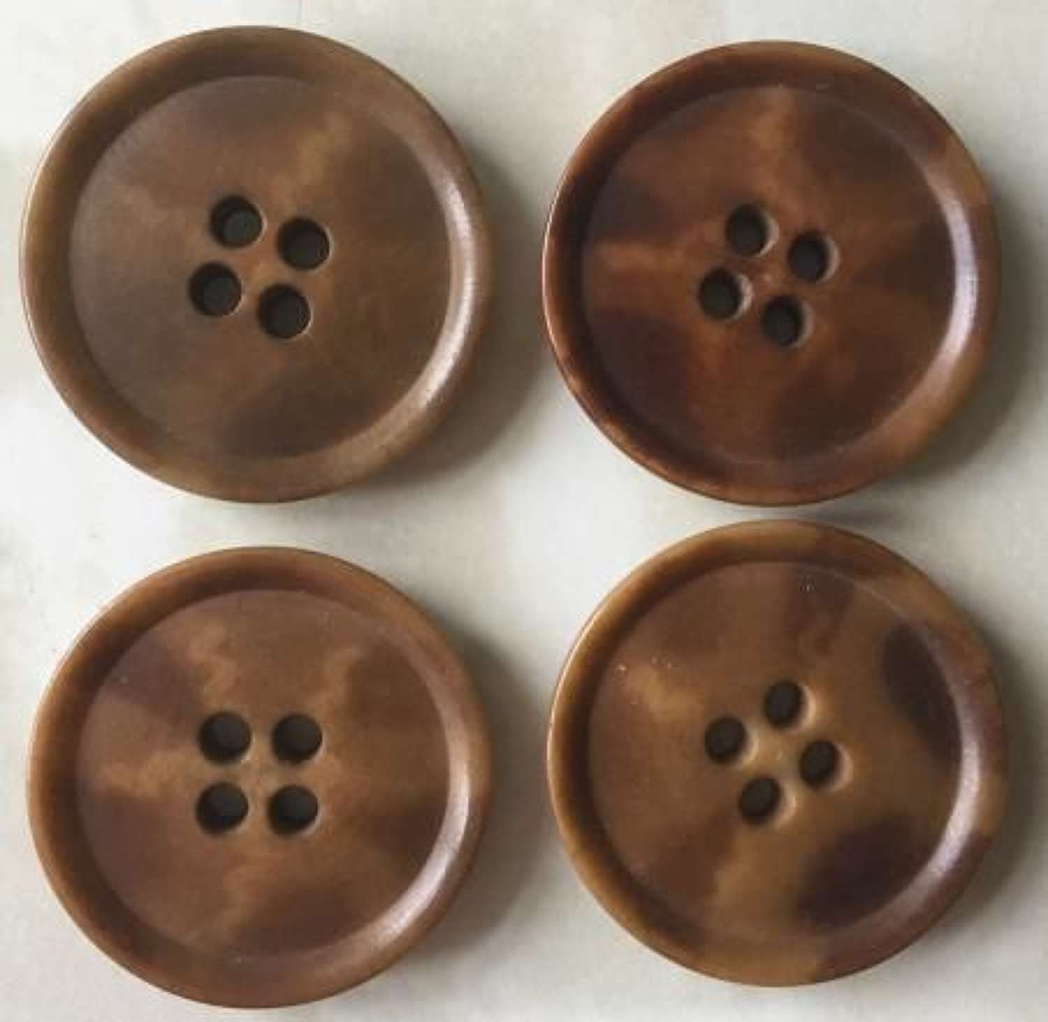 Rare Set of Buttons For British Army Leather Jerkin