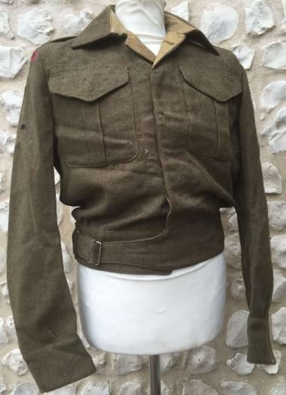 Royal Engineers Lieutenant Colonels Battledress Blouse Dated 1943