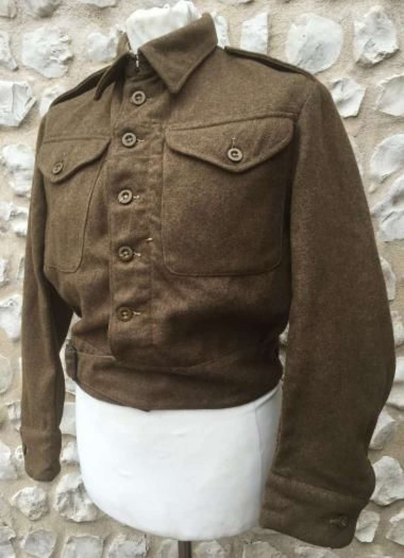 1940 (Austerity) Pattern Battledress Blouse Dated 1943 Size 9