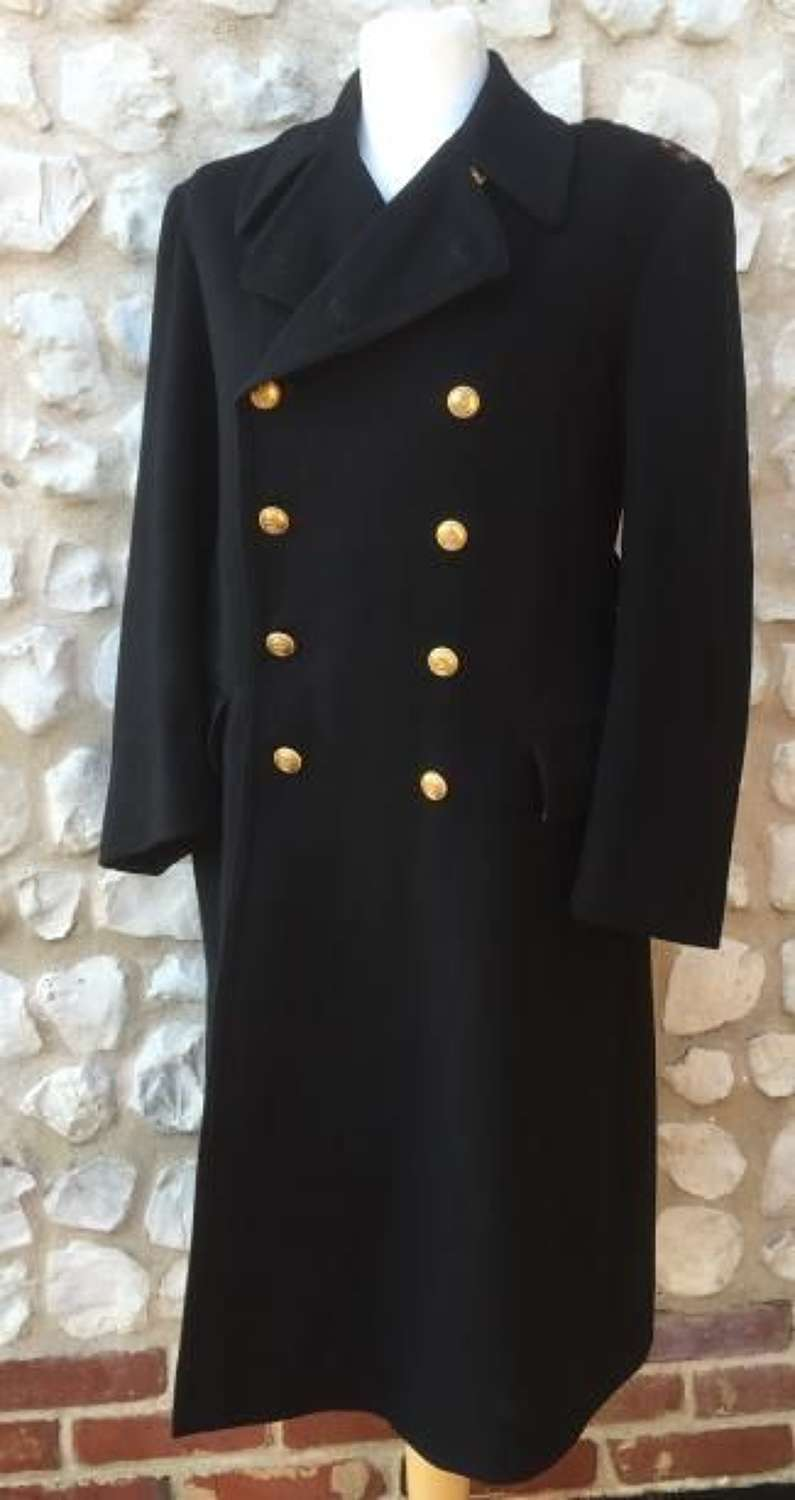 Royal Navy Medical Officers Greatcoat