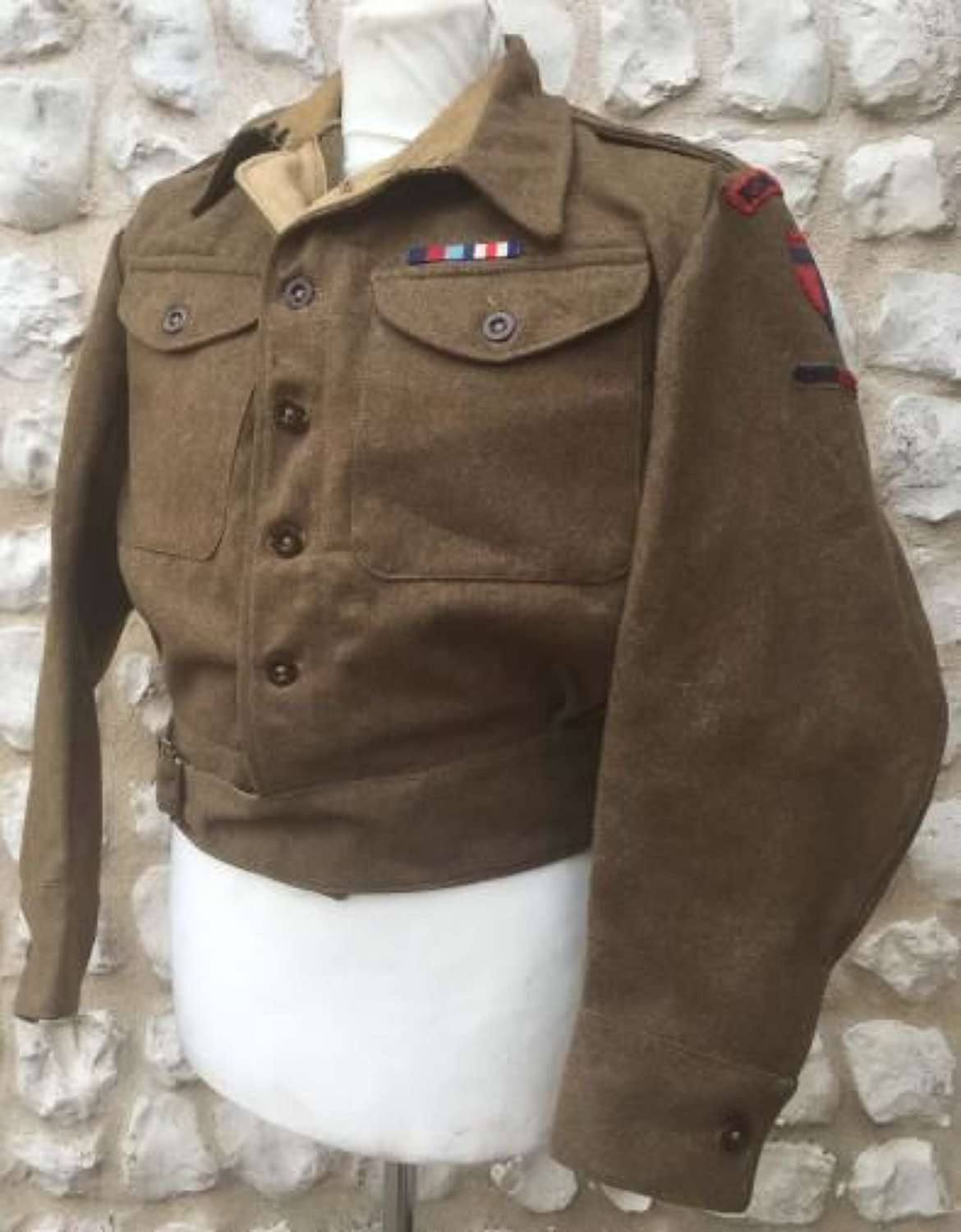Royal Engineers Officers Battledress Blouse Dated 1943