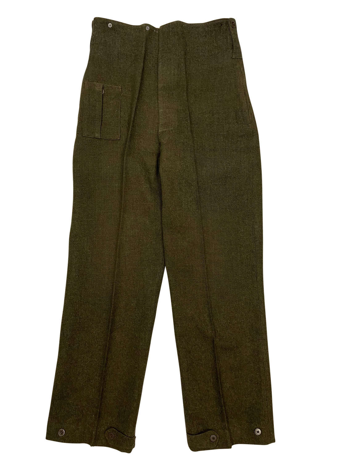 1944 Dated Canadian Battledress Trousers Size 11