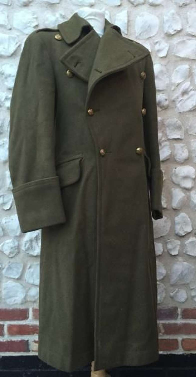 WW2 Royal Artillery Officers Greatcoat
