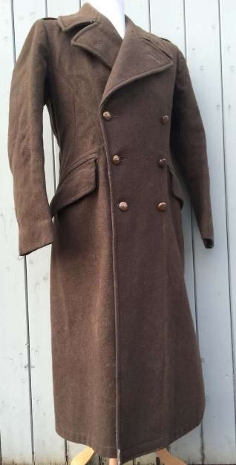 1939 Pattern (Dismounted) British Army Greatcoat