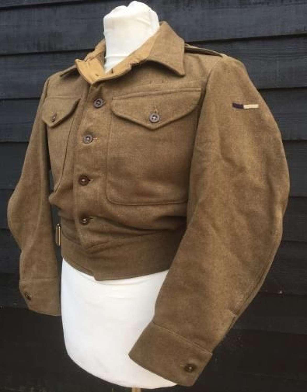 1942 Dated Royal Signals Captains Battledress Blouse