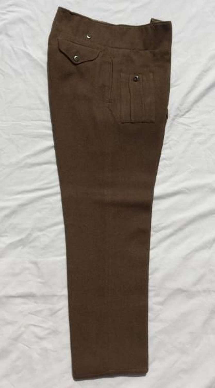 1940 Pattern (Austerity) Battledress Trousers