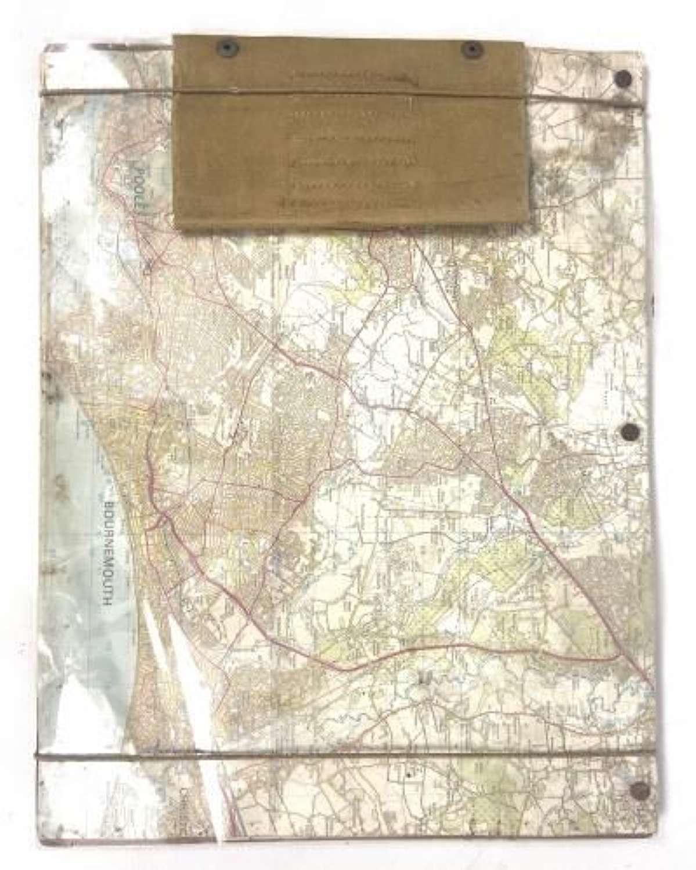 Original WW2 British Army Map Board
