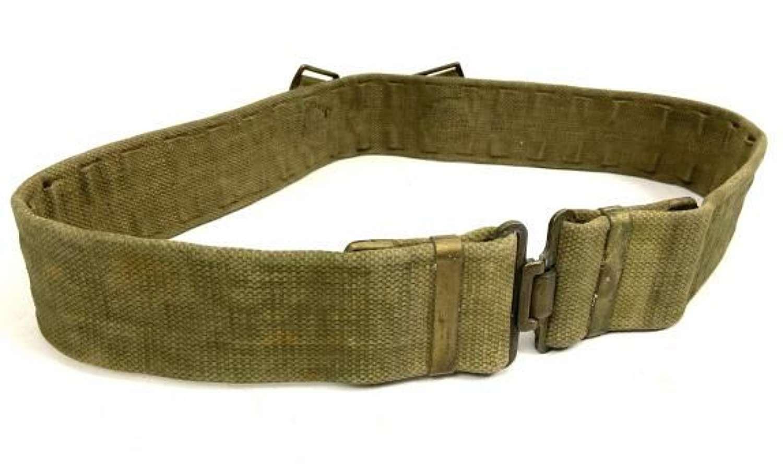 Original 1937 Pattern Webbing Belt