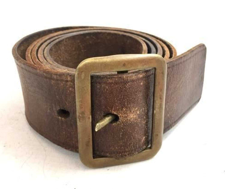 Original British Army 1903 Pattern Leather Belt- Large Size!
