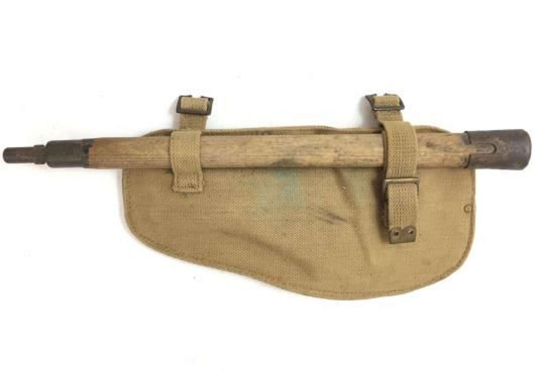 Original 1943 Dated British Army 1937 Pattern Entrenching Tool