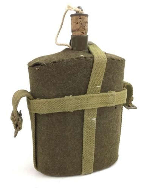 Original WW2 MK VII Water bottle and Webbing Cradle