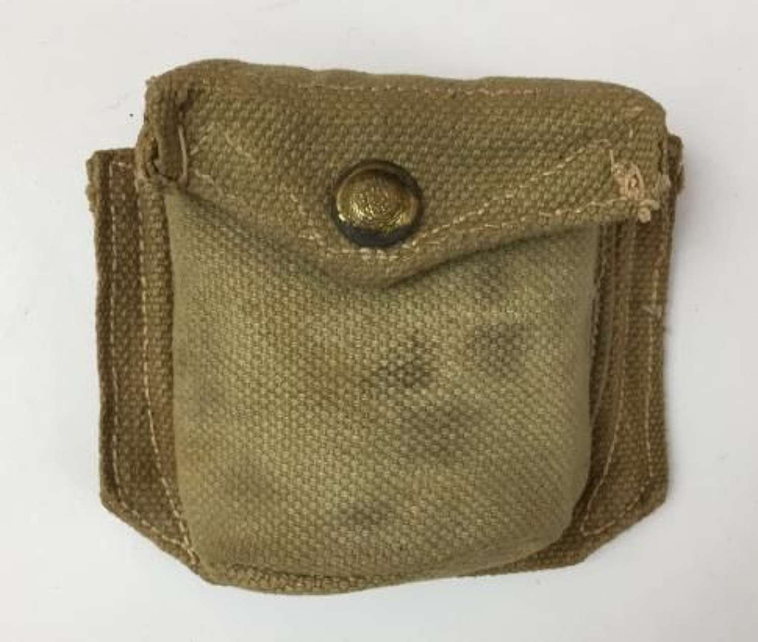 Rare 1942 Dated Indian Made Compss Pouch