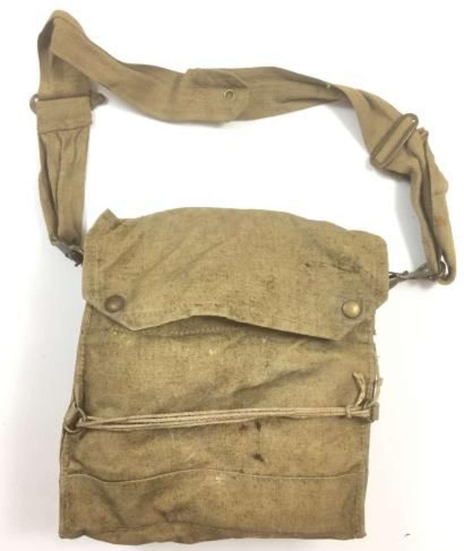 Original 1941 Dated British Army MK VI Chest Respirator Gas Mask