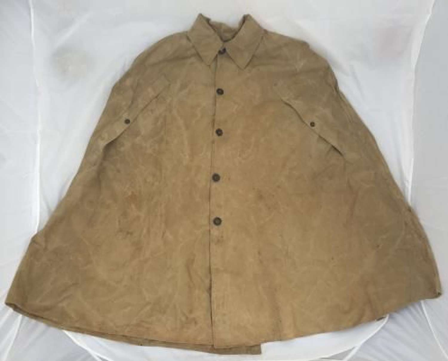 Scarce 1944 Dated Indian Made Monsoon Cape