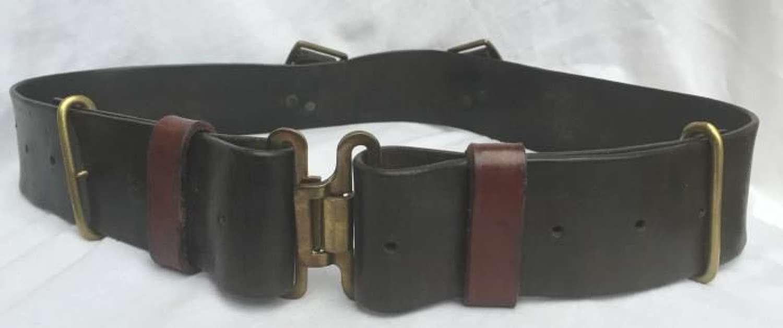 1939 Pattern Leather Waist Belt