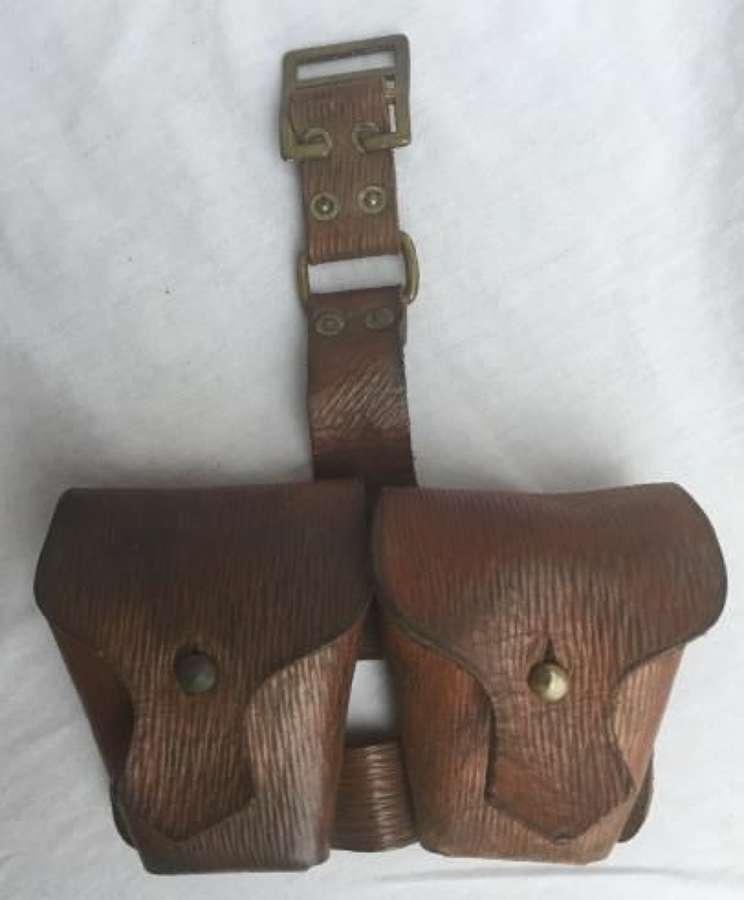 Scarce 1939 Pattern Leather Cartridge Pouch (2)