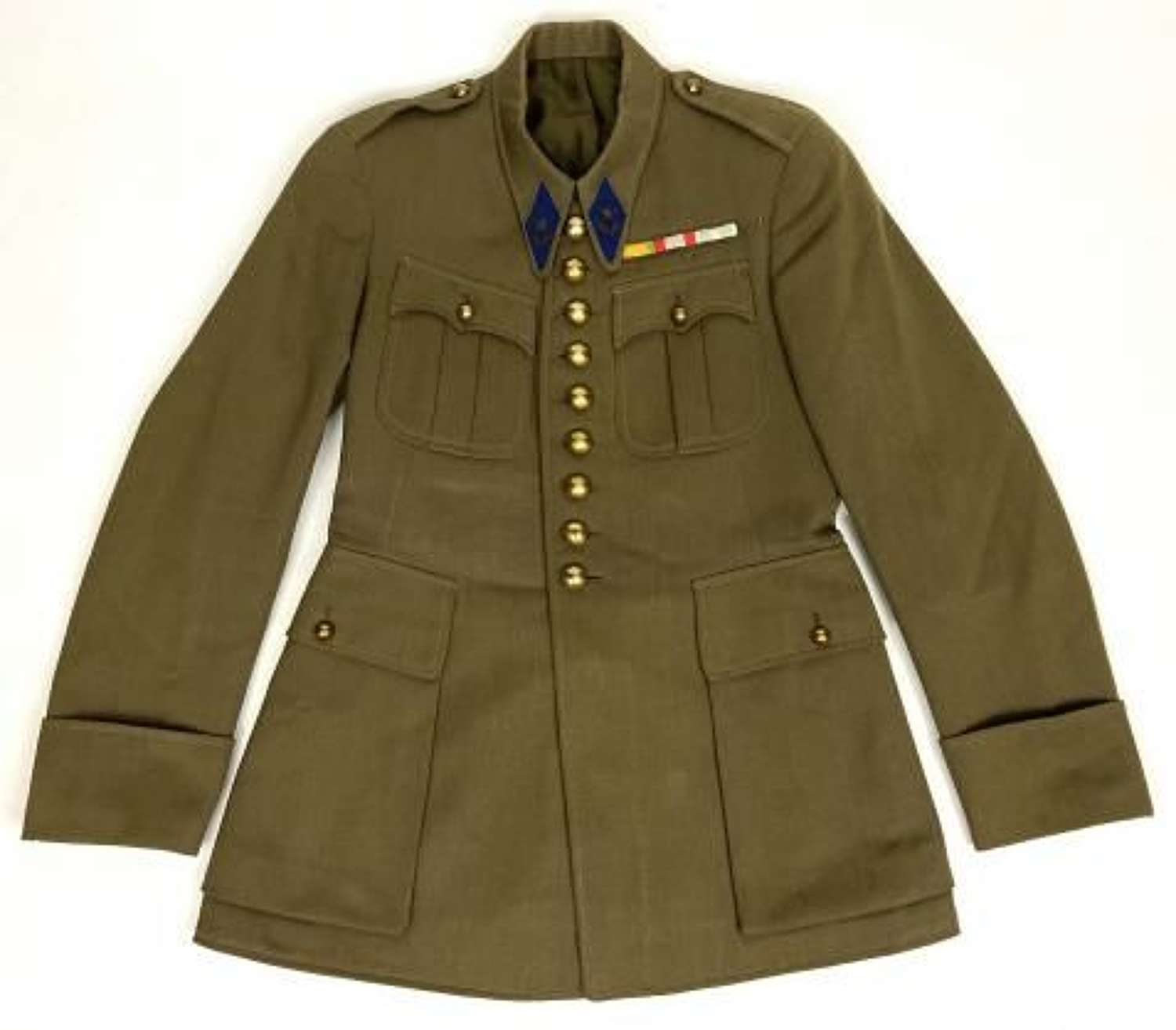 Original 1936 Dated French Army Officers Jacket
