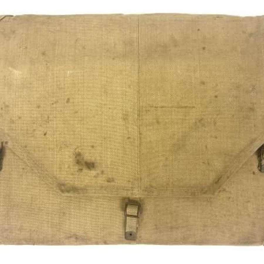 Original 1941 Dated Royal Artillery Webbing Plotting Board Case by 'ME
