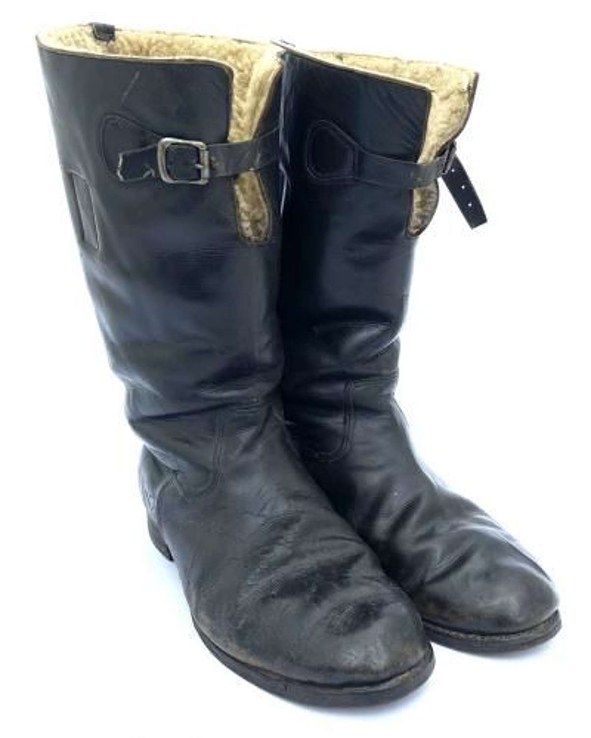 Original Battle of Britain Attributed 1936 Pattern Flying Boots