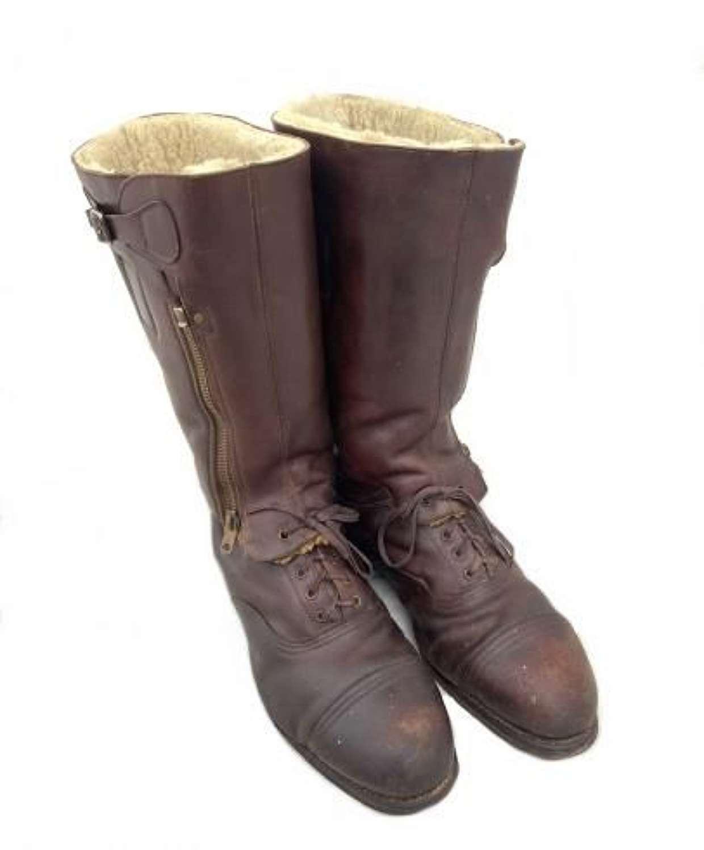 Scarce Original Brown Nuffield Pattern Escape Boots