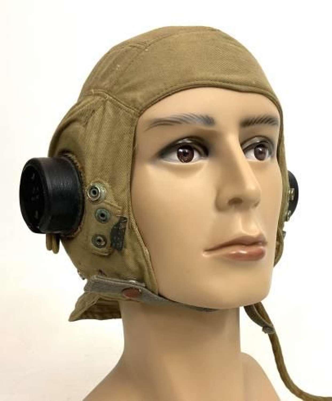Original WW2 RAF D-Type Flying Helmet