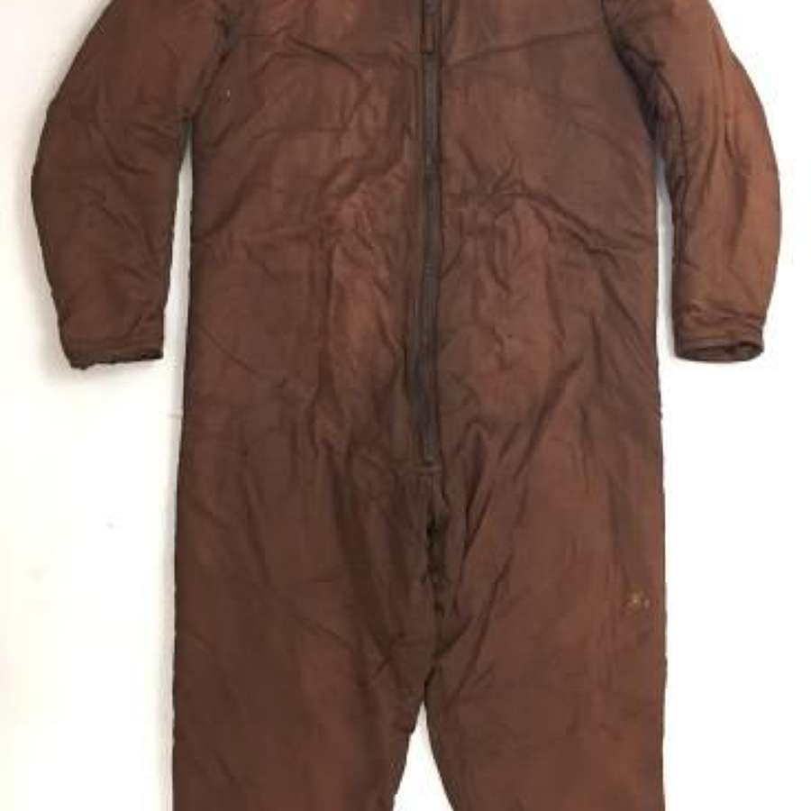 Original 1939 Dated RAF Sidcot Suit Liner - Size 4